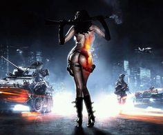 Hot Damn. {Girl Gamer} yesss battlefield 3!! :D