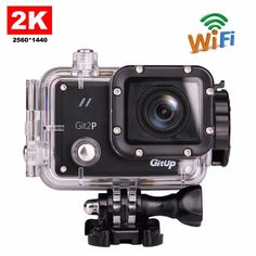 Original GitUP Git2P Pro Packing G-Sensor Full HD 2K 1080p 60fps For Panasonic MN34120 16MP Sensor Wifi Sports Action Camera #Affiliate