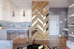Kényelmes, minőségi berendezés egy pár 51m2-es új kétszobás lakásában