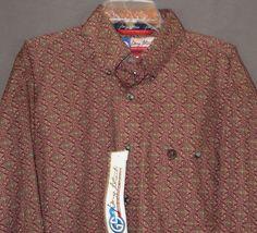 WRANGLER George Strait MGSR036 MENS SHIRT Western Button Up Cowboy NWT XXL 2XL #wranglergeorgestrait #Western