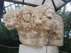 Lapidario di Hierapolis - Ornate Capital | Flickr – Condivisione di foto!
