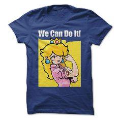 t-shirt We Can Do It - Mario