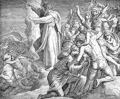 Bilder der Bibel - Israels Rettung und der Ägypter Untergang