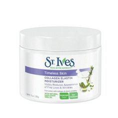 St. Ives Facial Moisturizer, Timeless Skin Collagen Elastin, 10oz....Best wrinkle cream according to Dr. Oz...save your money and buy this instead of the fancy creams