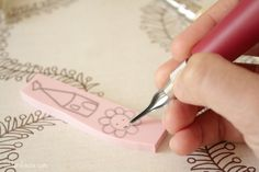 Stamp carving tips