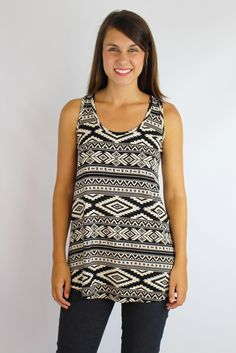 Love Tribe Tank $26 | Truly Yours Boutique