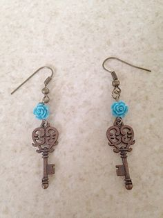 Hey, I found this really awesome Etsy listing at https://www.etsy.com/listing/234606508/brass-key-earrings-key-earrings