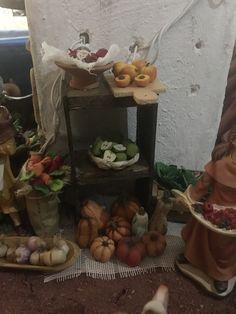 Puesto de frutas. Nacimiento/Belén Gabriela Aranda 2015. Guadalajara, México