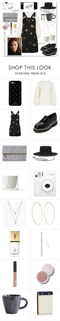 """""""Noteworthy"""" by cassiecronk ❤ liked on Polyvore featuring Kate Spade, Helmut Lang, Topshop, Suecomma Bonnie, Menu, LOFT, Magda Butrym, Yves Saint Laurent, Express and Barneys New York"""
