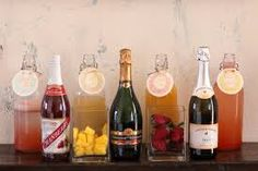 Image result for mini mimosa bar on my birthday party