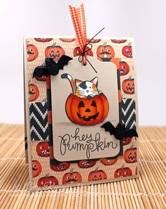 SSS Halloween card by Prairie Paper and Ink