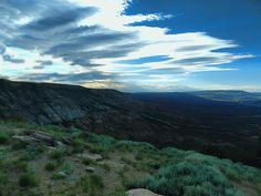 Looking towards the Flaming Gorge Photograph