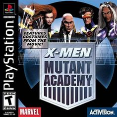 X-Men: Mutant Academy Greatest Hits (Sony PlayStation 1, 2003) Complete
