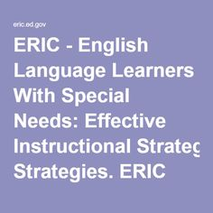 the effective learning strategy in english The learning scientists six strategies for effective learning materials for teachers and students download by strategy download by type of material posters illustrating the strategies click to view the posters (english) posters in other languages powerpoint slides for presenting the strategies to students.