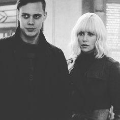 """125 Likes, 6 Comments - ◾Bill Skarsgård (@i.rymden.finns.inga.kanslor) on Instagram: """"Bill Skarsgård & Charlize Theron - David Leitch's """"Atomic Blonde"""" (2017) #billskarsgard…"""""""