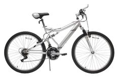 Reaction  ICOSH FullSuspension Mountain Bike Silver 18Inch * See this great product. This is an Amazon Affiliate links.