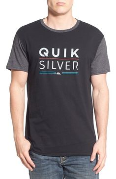 Quiksilver 'Fully Stacked' Graphic T-Shirt