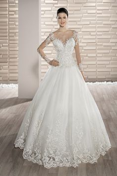 Demetrios Collection Bridal Dresses: Every design pays close attention to detail and quality, giving each Demetrios wedding dress its signature touch Bridal Party Dresses, Wedding Dress Styles, Bridal Gowns, Wedding Gowns, Prom Dresses, Wedding Dress Boutiques, Gowns Online, The Dress, Marie