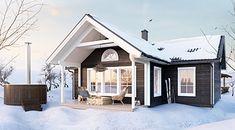 Hudikhus Fjällstuga Aktiv, Villa, Outdoor Decor, House, Home Decor, Houses, Homemade Home Decor, Home, Haus