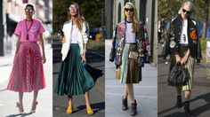 Pleated Skirts Proved Popular On Day 7 of NYFW | Fashionista