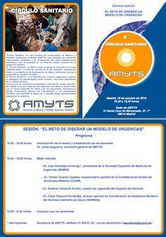 """10º Círculo sanitario AMYTS: """"El reto de diseñar un modelo de urgencias"""" – Amyts"""