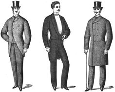 victorian clothes men - Google Search