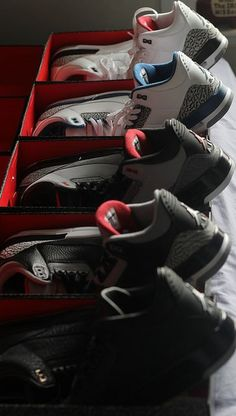 All of the Air Jordan III Colorways