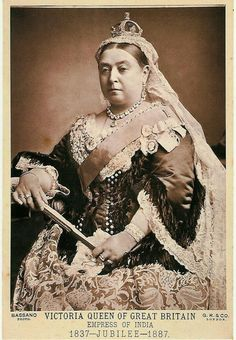 Victoria Queen of Great Britain, Empress of India. 1837-Jubilee-1887. Photograph by Alexander Bassano, 1882