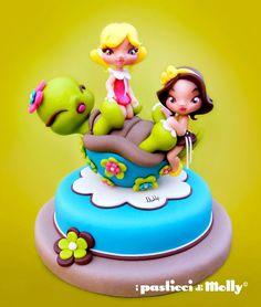La Casuca Dulce de Ponona Cakes: Curso con Molly - Tortuga y hermanas :)
