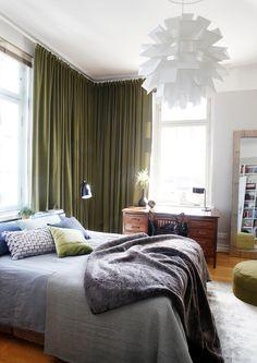 Seesteistä pastellia vai dramaattisia värejä? Sisusta myös makuuhuone viihtyisästi oman maun mukaan.