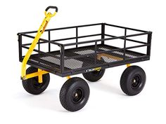 Shop a great selection of Gorilla Carts Heavy-Duty Steel Utility Cart Removable Sides 15 Tires, Capacity, Black. Find new offer and Similar products for Gorilla Carts Heavy-Duty Steel Utility Cart Removable Sides 15 Tires, Capacity, Black. Garden Wagon, Garden Cart, Beach Wagon, Yard Maintenance, Bed Liner, Utility Cart, Utility Trailer, Thing 1, Wheelbarrow