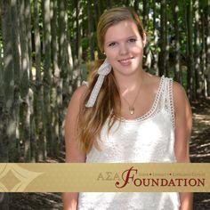 Lauren Kowalczyk, Zeta Nu, Dr. Geraldine Cox Leadership Scholarship