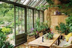 jardin d'hiver photo amenagement interieur
