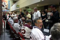 b4e049686c3 10.24.15 - The 1980 Hershey Bears Calder Cup team signed autographs and  took photos
