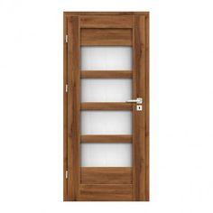 Drzwi pokojowe Geom Ombra 80 cm lewe dąb stary 3D