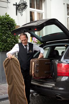 The #service at Hotel Heritage is excellent from the moment the guest steps into our magical world of old #city luxury, until the tough moment of check-out.   #Bruges #Western Europe #European #luxury www.hotel-heritage.
