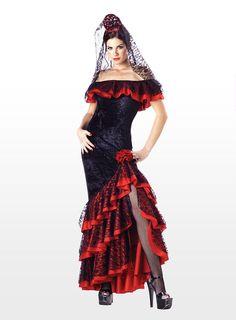 Spanische Tänzerin Kostüm