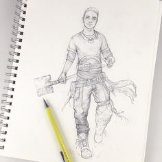 "2,006 Me gusta, 18 comentarios - Tim Von Rueden (@vonnart) en Instagram: ""Tim Sketch | Swordplay cast  5/9  The first OC from Swordplay was meant to act as a ""fill in""…"""