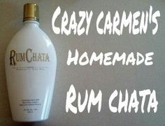 Rum Chata recipe - Brilliant  and I love that there's a 'low sugar' version LOL.