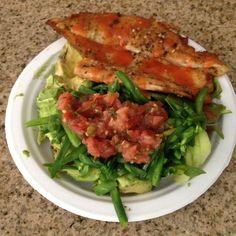 Swai fish w/Salad