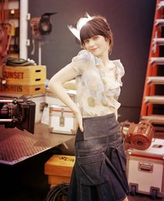 Zooey; like skirt.