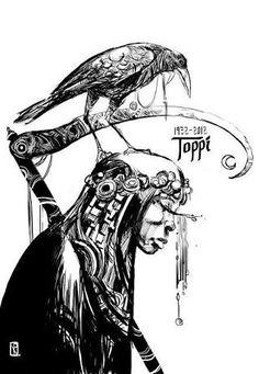 Résultats de recherche d'images pour «Sergio Toppi»