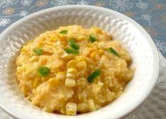 Vegan chili-cheese grits
