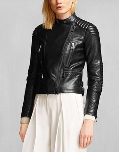 Sidney Jacket - Black Leather Leather