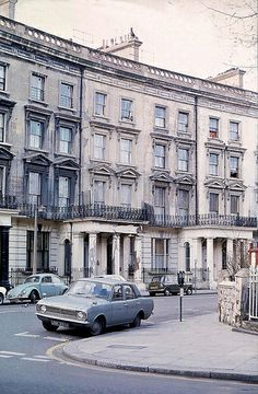 Aftermath of Rachmanism in Paddington, Feb 1974: St Stephens Crescent, a street that survived demolition