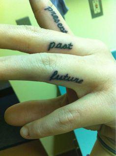 Present, Past, Future #tattoo