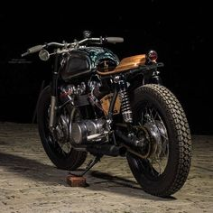 "Honda Cafe Racer ""Junie"" - RS moto Nepal #motorcycles #caferacer #motos 