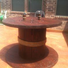 My spool table creation :)
