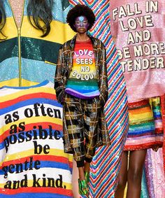This Designer Showed Political T-Shirts That Actually Meant Something+#refinery29
