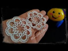 How to Learn Needle Lace Fan technigue Tatting Necklace, Tatting Jewelry, Tatting Lace, Needle Tatting Patterns, Crochet Patterns, Crochet Ornaments, Beading Projects, Sewing Hacks, Needlepoint